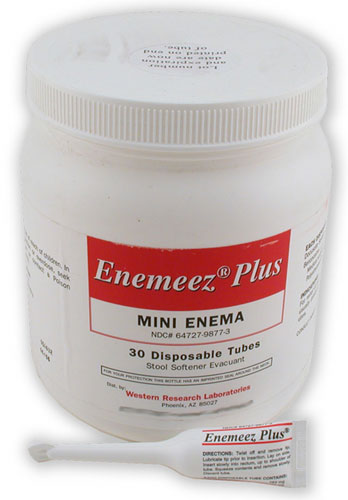 Enemeez Mini Enema Patient Information Description