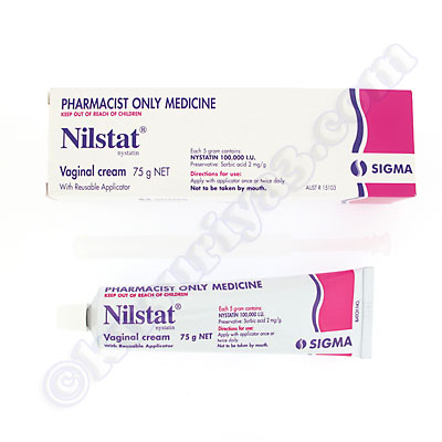 nystatin cream vaginal use