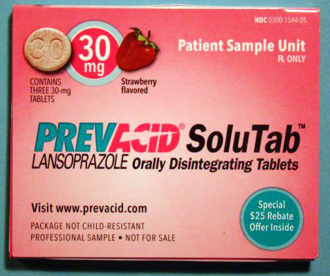 What are lansoprazole tablets