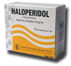 Haloperidol. Causes, symptoms, treatment Haloperidol