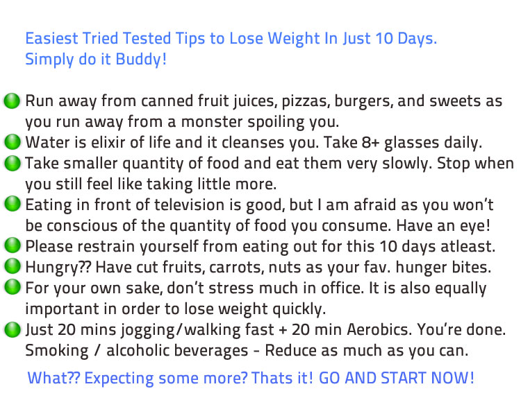 Tips for losing weight. Causes, symptoms, treatment Tips for losing