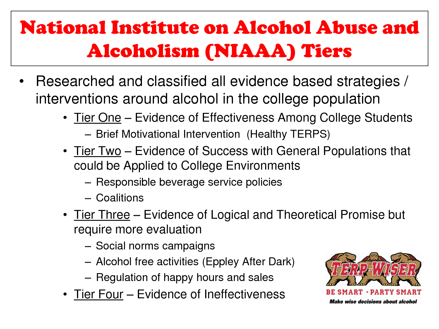 alcoholism and alcohol abuse The signs and symptoms of alcohol use, as well as the short- and long-term effects of alcohol abuse don't always occur in isolation in fact, an alarming number of people purposely combine their alcohol with drugs 7 this is frequently done with the intention of compounding the effects of both to achieve a greater state of intoxication.
