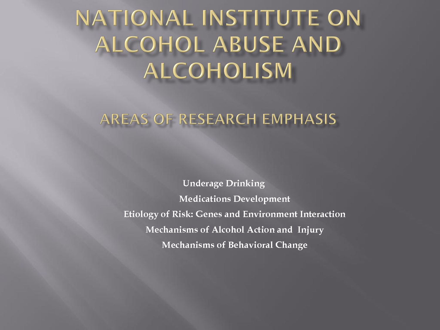 the causes and consequences of alcohol abuse Decreased academic performance is often one of the first noticeable signs of drug or alcohol abuse by college students substance abuse causes grades to slide because you're no longer able to keep up with your studies and perform to the best of your abilities, according to a publication by the.